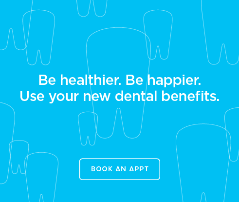 Be Heathier, Be Happier. Use your new dental benefits. - Davis Smiles Dentistry