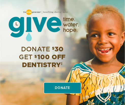 Donate $30, Get $100 Off Dentistry - Davis Smiles Dentistry